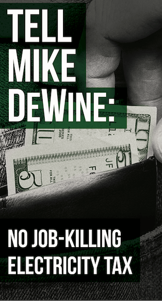 Tell Mike DeWine no tax