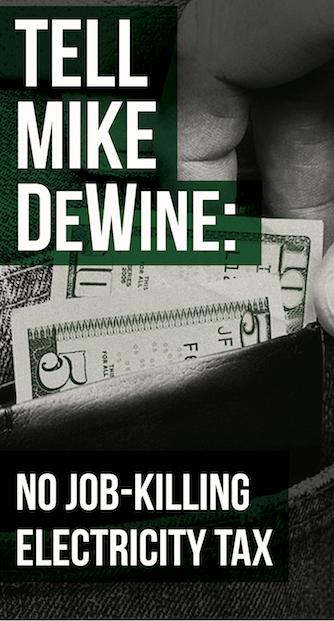 Tell Mike DeWine no tax