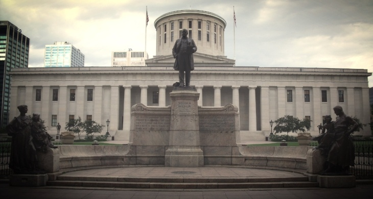 McKinley_Memorial_Ohio_Statehouse-730